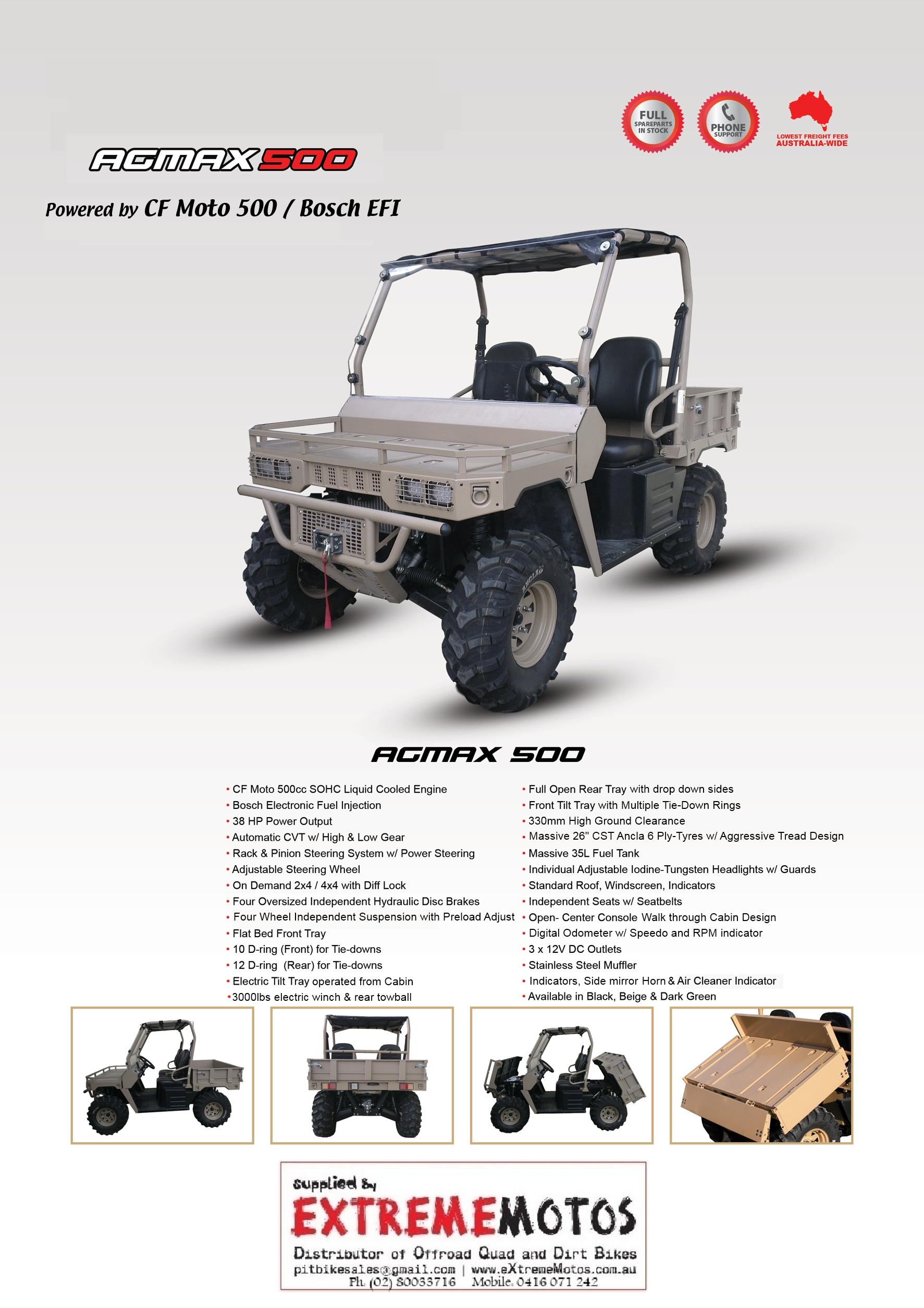 800cc 600cc 500cc Agmax Military 4x4 Utv 4wd Farm Utility Vehicle Cf Moto 500 Wiring Diagram Download Printable Spec Sheet